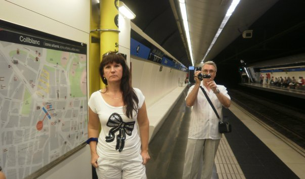 Станция метро Collblanc