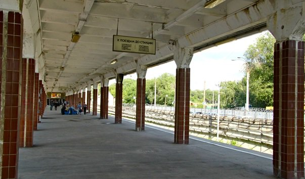 Станция метро 'Юнгородок'