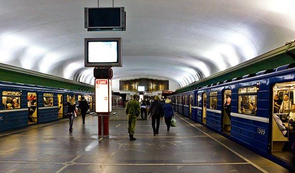 Станция метро Купаловская
