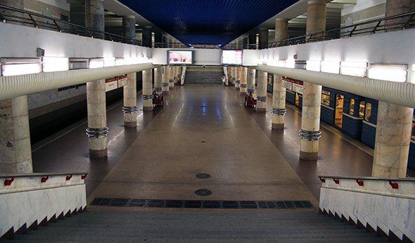 Станция метро Могилёвская