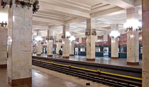 Станция метро 'Московская'
