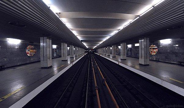 Станция метро 'Речной вокзал'