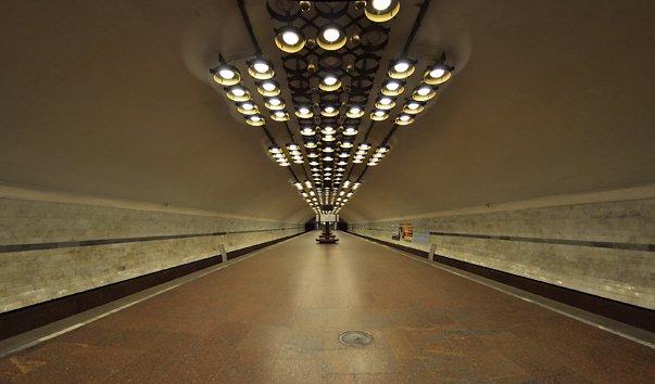 Станция метро 'Заельцовская'