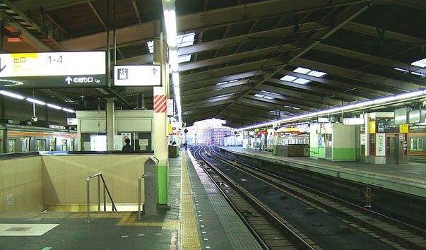 Станция Ниси-Фунабаси