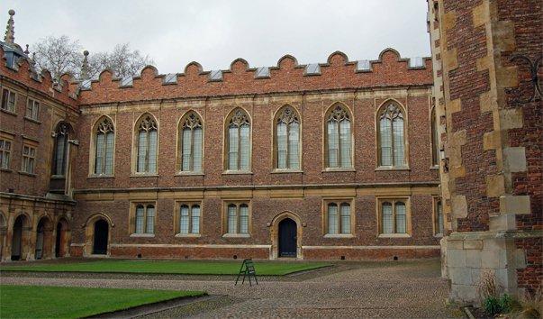 Старая Библиотека Колледжа Святого Иоанна