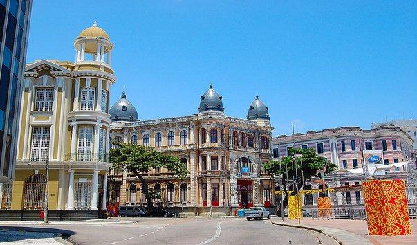 Старый город Recife Antigo