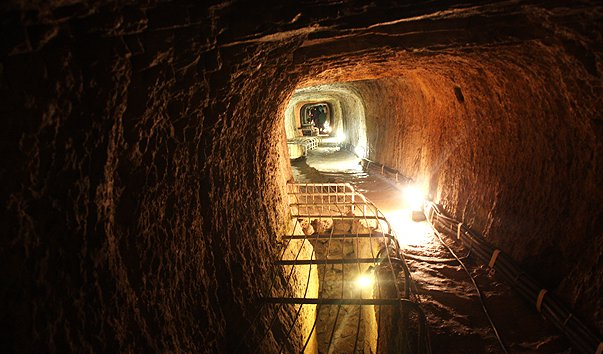 Тоннель Eupalinos