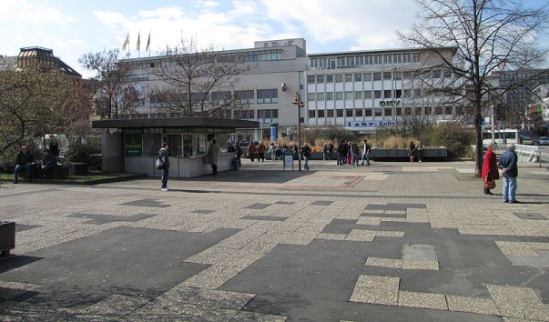 Центральная площадь Кобленца