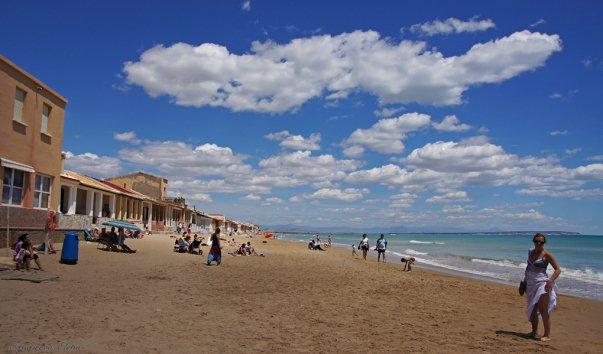 Центральный пляж Гвардамар-дель-Сегуры
