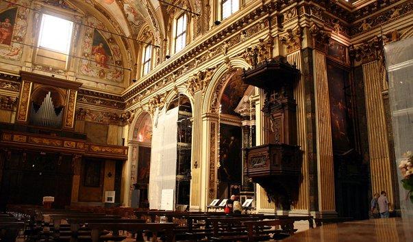 Церковь аббатства Сан-Антонио