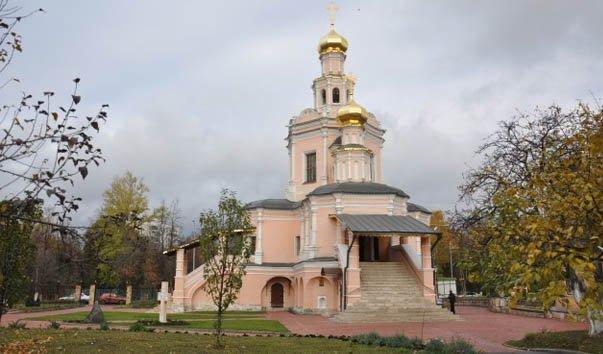 Церковь Бориса и Глеба в Зюзине
