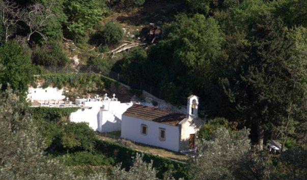 Церковь Пяти Святых Дев в ущелье Мили