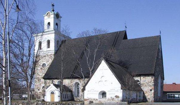 Церковь Святого креста в Рауме
