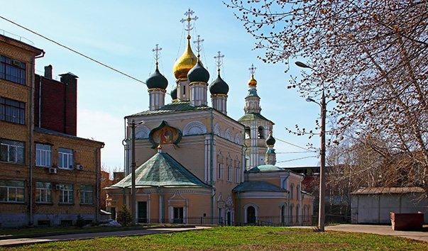 Церковь Троицы в Кожевниках