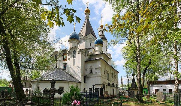 Церковь Успения Пресвятой Богородицы в Вешняках