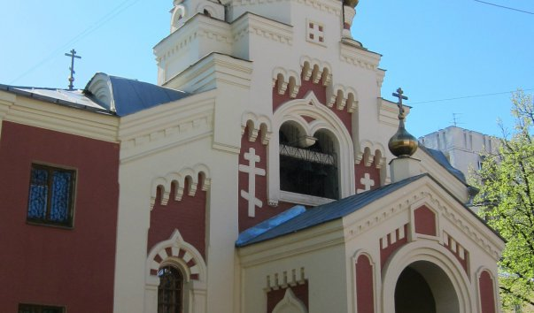 Церковь в честь иконы Божьей Матери всех скорбящих радости