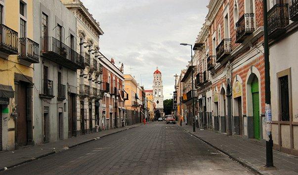Улица Пуэбла