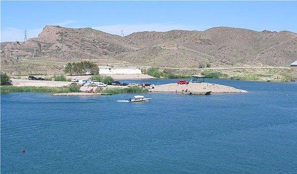 Водохранилище  Капчагайское
