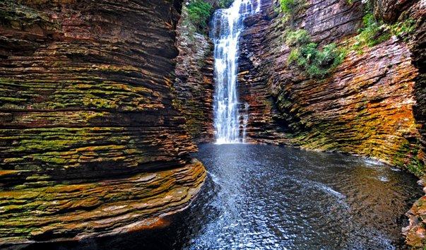 Водопад Бурасау