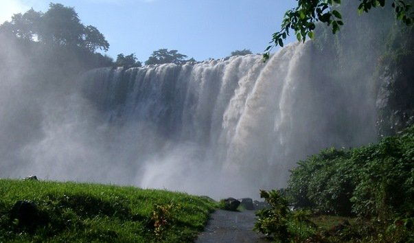 Водопад Salto de Eyipantla