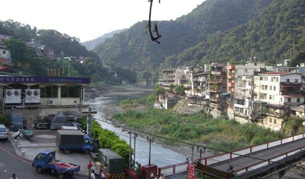Водопад Wulai
