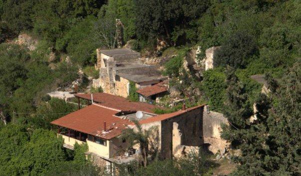 Заброшенная деревня Мили