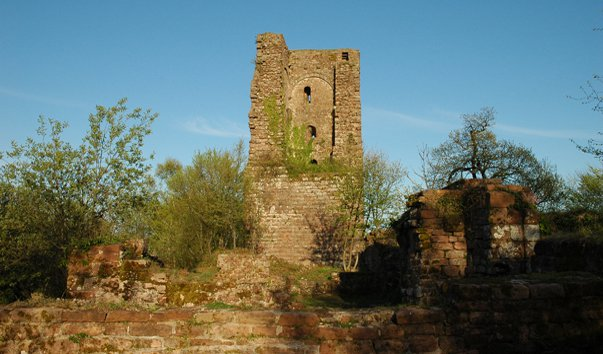 Замок Grand-Geroldseck