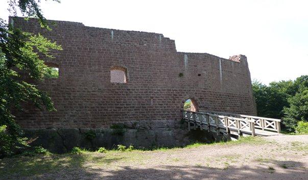 Замок Wangenbourg