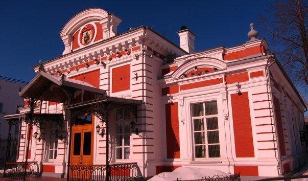 Здание имперского павильона