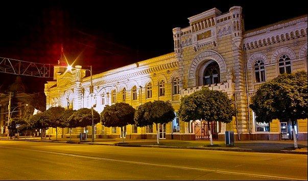 Здание Кишиневской  Примарии