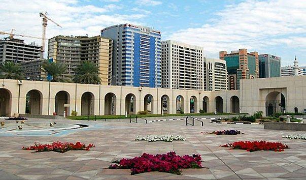 Здание культурного фонда в Абу-Даби