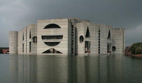 Здание Национальной Ассамблеи Бангладеша