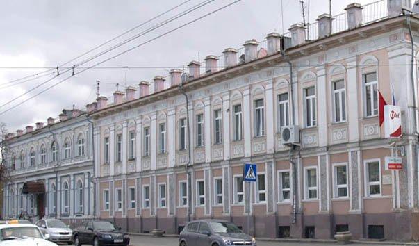 Здание почтовой конторы конца XIX века