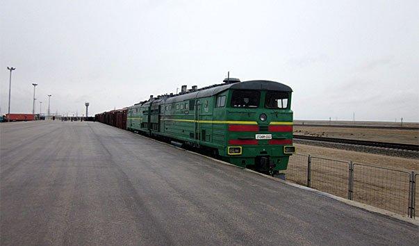 Железная дорога от узбекской границы до Мазар-и-Шарифа
